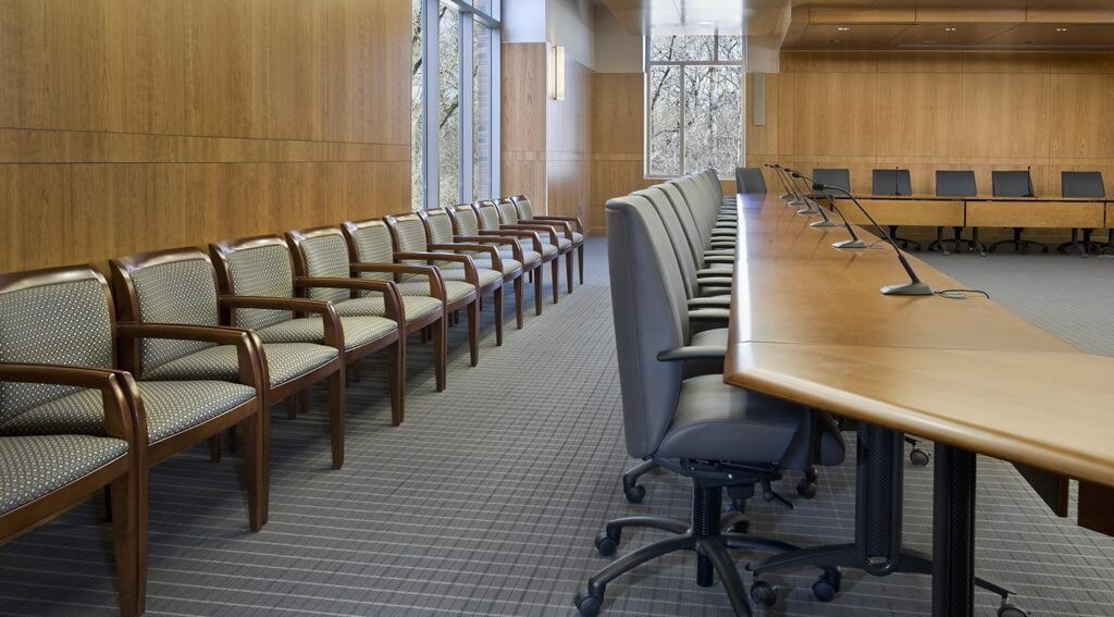 Bethel University Boardroom